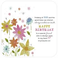 happy birthday to a special friend free friend