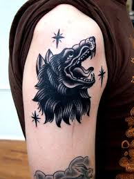 wolf tattoo traditional tattoos pinterest