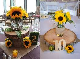 sunflower centerpiece sunflower centerpiece ideas 1000 ideas about sunflower table