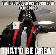 Star Wars Funny Meme - the force is strong in these funny star wars memes