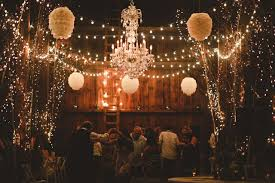 wedding magic with twinkle lights mon cheri bridals