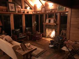 cozy fireplace and cabin in arkansas cozyplaces