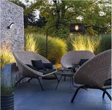 canapé de jardin castorama salon de jardin en rotin collection loa extérieur