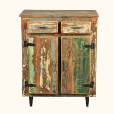 appalachian rustic painted old wood standing kitchen utility