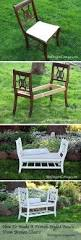 How To Make An Outside Bench Diy Desk To Bench Dresser Bench Dresser And Bench