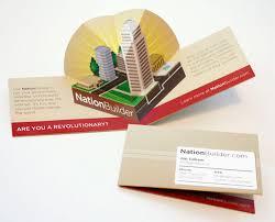 pop up brochure template 15 cool pop up business cards printaholic