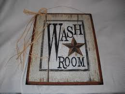 gorgeous country bathroom wall decor