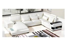 Modern White Bonded Leather Sectional Sofa Vgyit285 3 Diamond Modern White Leather Sectional Sofa S3net