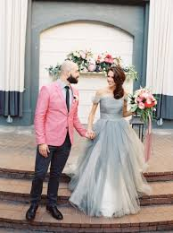 Dove Gray Wedding Dress Modern Preppy Wedding Shoot In Coral And Gray Hey Wedding Lady
