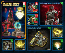 swtor cm the distant worlds decoration bundle now available dulfy