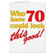 70th birthday ideas greeting cards zazzle