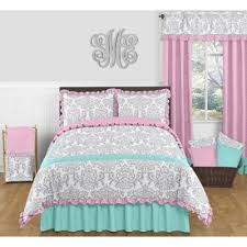 Princess Comforter Full Size Buy Pink And Grey Comforter From Bed Bath U0026 Beyond