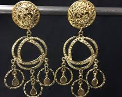 earrings clip on clip on earrings etsy