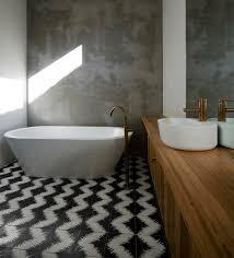 Zig Zag Floor L Bathroom Flooring Zig Zag Black And White Floor Bathroom Tile