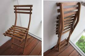 affordable wooden folding chair ideas for balcony furniture on