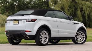 convertible toyota 2017 first drive 2017 land rover range rover evoque convertible