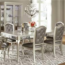 amazon com pulaski diva 7piece dining room set table with 6