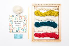 weaving loom kit for weaving wall art with loom