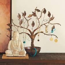 tree of life jewelry stand storage vivaterra