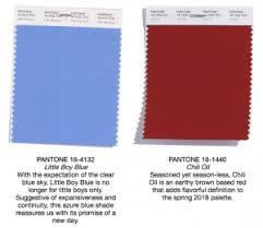 here are pantone u0027s color picks for spring 2018 jck