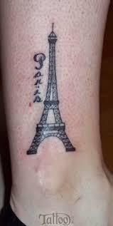 tattoo gallery for men eiffel tower tattoo