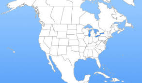 combined map of usa and canada us map with mexico major tourist attractions maps