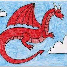 25 easy dragon drawings ideas easy dinosaur