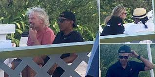 Obama Necker Island The Obamas Visit Necker Island As Billionaire Richard Branson U0027s