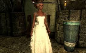 wedding dress skyrim weddingdress at skyrim nexus mods and community