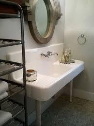 Best Vintage Bathroom Sinks Images On Pinterest Bathroom - Kitchen sink in bathroom