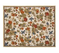 Pottery Barn Rugs Clearance Bird Floral Rug Pottery Barn