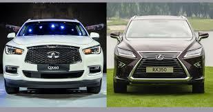 lexus xe hay infiniti qx60 2016 và lexus rx350 2016 nên mua xe nào