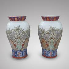 Chinese Vases Uk A Pair Of Chinese Vases Ca 1920