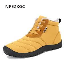 online shop npezkgc men winter snow shoes man boot lightweight