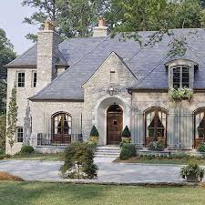 French Country Style Home   roofing material guide french country style house and window