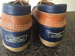 womens ll bean boots size 9 ll bean s l l bean rubber moc boots size 9