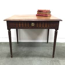 Antique French Desk Antique French Chestnut Writing Table Desk Circa 1800s L013