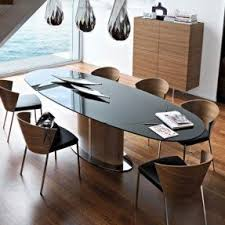 Black Oval Dining Room Table - black oval dining table foter