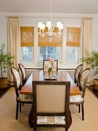 creative modest dining room window treatments dining room window