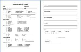House Cleaning Estimate Form by Start Your Own Small Business With Professional Business Forms And