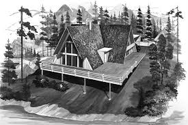 a frame style house plans contemporary a frame house plans home design hw 1432 17282