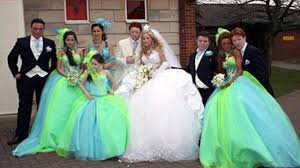 disgusting wedding dresses ugliest wedding dresses 2015 dress edin