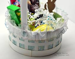 the cutting cafe u0027 easter basket template
