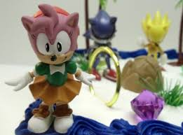 sonic cake topper unique 12 classic sonic the hedgehog cake topper set