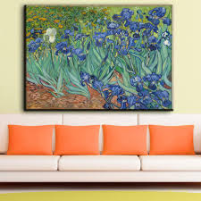 Decorative Paintings For Home by Compare Prices On Vincent Van Gogh Paintings Irises Online