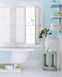 light blue bathroom ideas blue rooms martha stewart