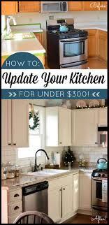 how to update rental kitchen cabinets 15 do it yourself hacks and clever ideas to upgrade your kitchen 9