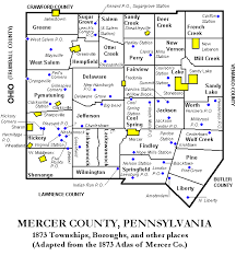 mercer map 1873 map