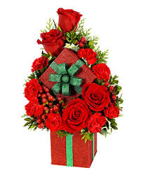 christmas flower gift at from you flowers