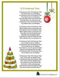 printable lyrics printable christmas carols and songs lyrics